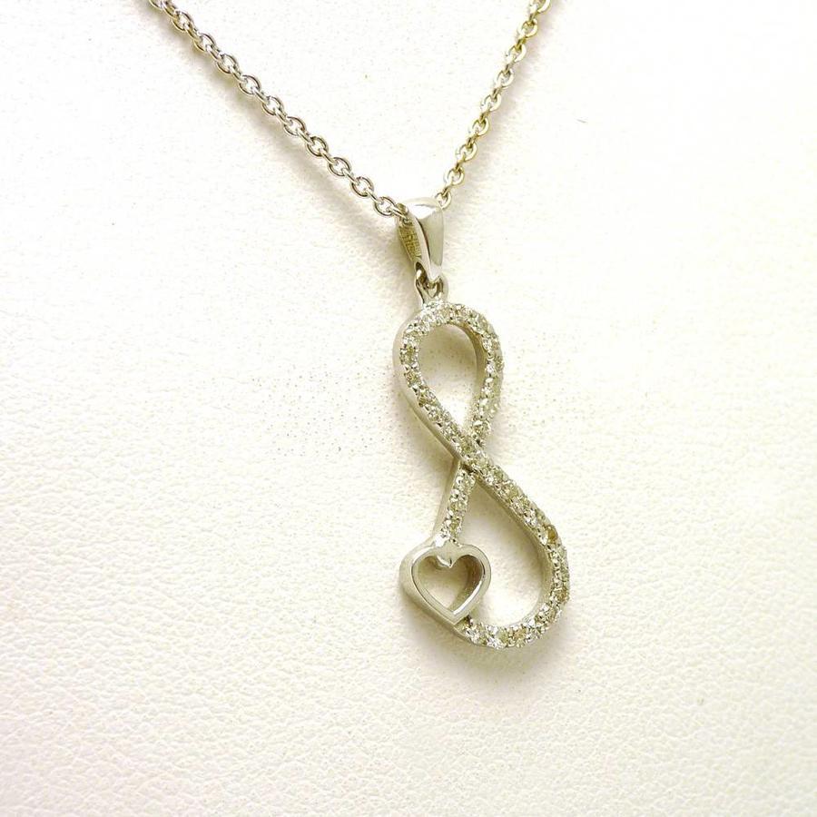 18 karaat wit gouden hanger & collier