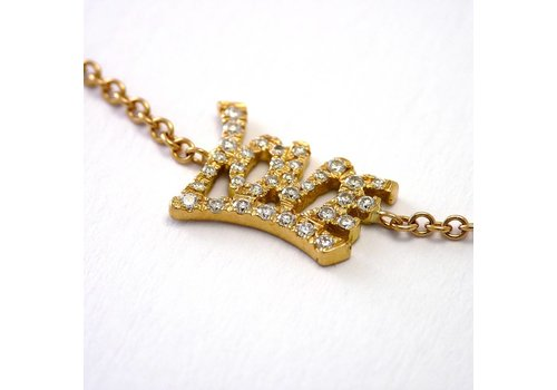 18 krt. rosé gouden armband