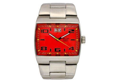 Zone Watch Sts/Metal/Red 0555