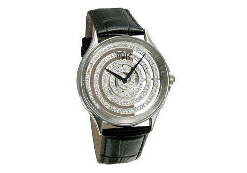 Spiral Watch Blk/Stone 1160