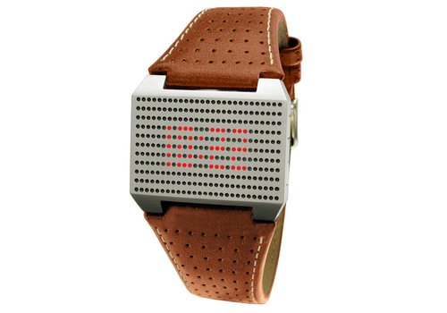 Screen LED Watch Brown S 1301
