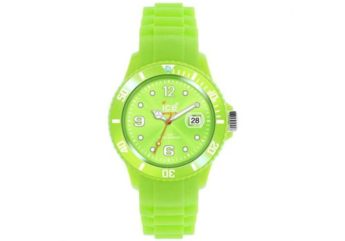 Ice Watch silicone SS.AG.B.S.11 acid green klein
