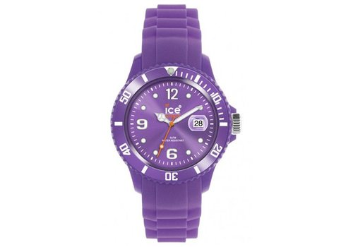Ice Watch silicone SS.LR.B.S.11 lavender Groot