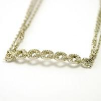 14 krt. witgouden armband met 0.06ct Diamant