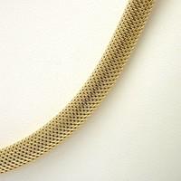 14 krt. geel gouden Milanese choker