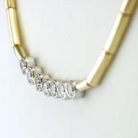 18 krt. geel gouden collier