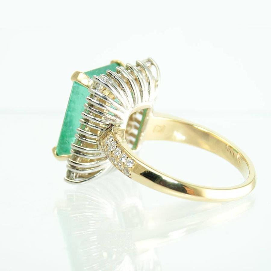 18 krt. bicolor gouden ring