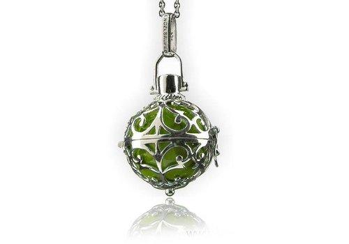Engelsrufer ER-03-SML hanger groene bal