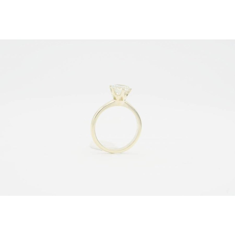 18 krt. gouden solitair ring