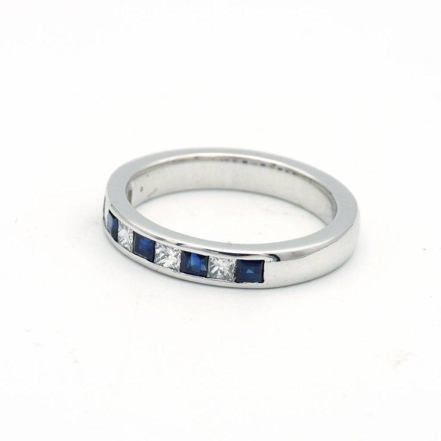 18 krt wit gouden ring