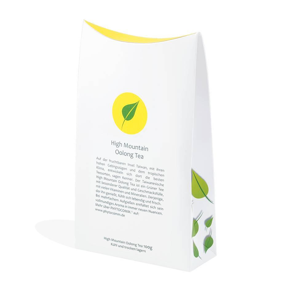PHŸTOCOMM.®  Taiwan High Mountain Oolong Tea