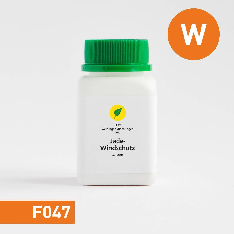 PHŸTOCOMM.®  Weidinger Mischung 9 - Jade-Windschutz