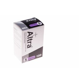 Altra Needles Stainless Steel Wired Handles with Loop & Guidetube 0,25x40 mm