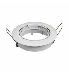 LED spot armatuur wit rond kantelbaar zaagmaat Ø74mm
