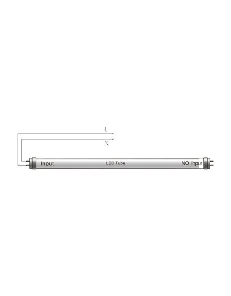 LED TL buis 1200 mm 6000K 18W (kleur 865, vervangt 36W)