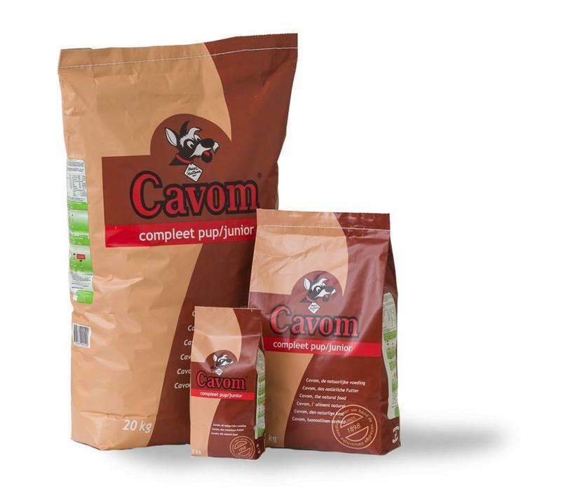 Cavom   Compleet pup/junior   20 kg   rund   vlees