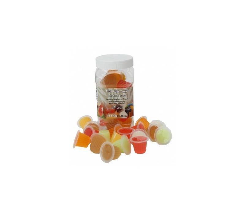 Fruit Cups Mix Pot (24 st)