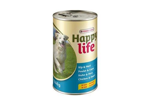 Versele-Laga Happy Life | Kip & hart - blik | 1240 g | kip | hart