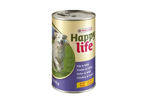 Versele-Laga Happy Life | Kip & wild - blik | 1240 g | kip | wild