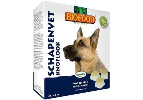 Biofood   Schapenvet maxi knoflook   knoflook   schapenvet   40 stuks