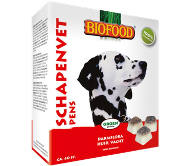 Biofood   Schapenvet maxi pens   pens   vet   40 stuks