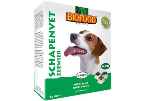 Biofood Biofood | Schapenvet mini zeewier | zeewier | vet | 80 stuks
