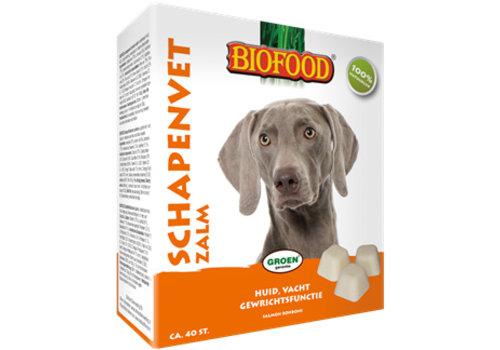 Biofood Biofood   Schapenvet zalm zonnebloemolie   zalm   vet   40 stuks