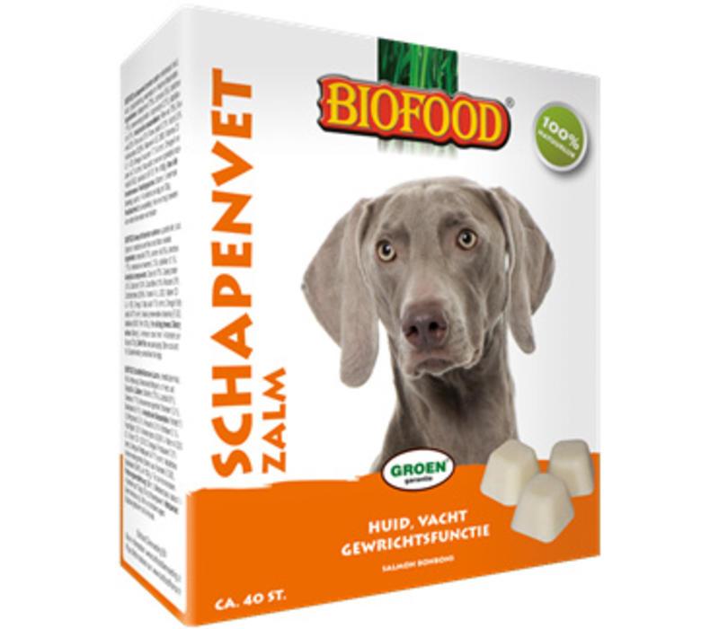 Biofood | Schapenvet zalm zonnebloemolie | zalm | vet | 40 stuks