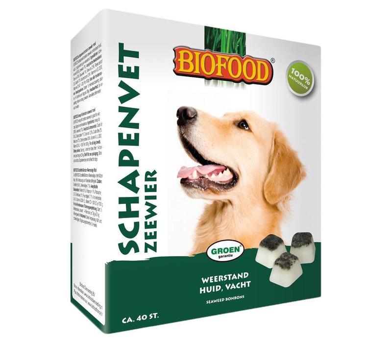 Biofood   Schapenvet zeewier   zeewier   vet   40 stuks