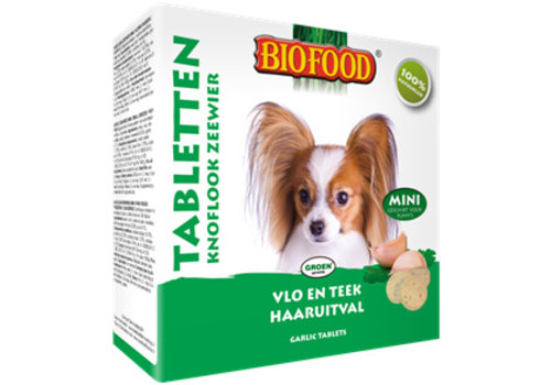 Biofood Biofood   Snoepje zeewier anti-vlo   zeewier   100 stuks