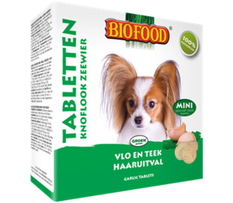 Biofood   Snoepje zeewier anti-vlo   zeewier   100 stuks