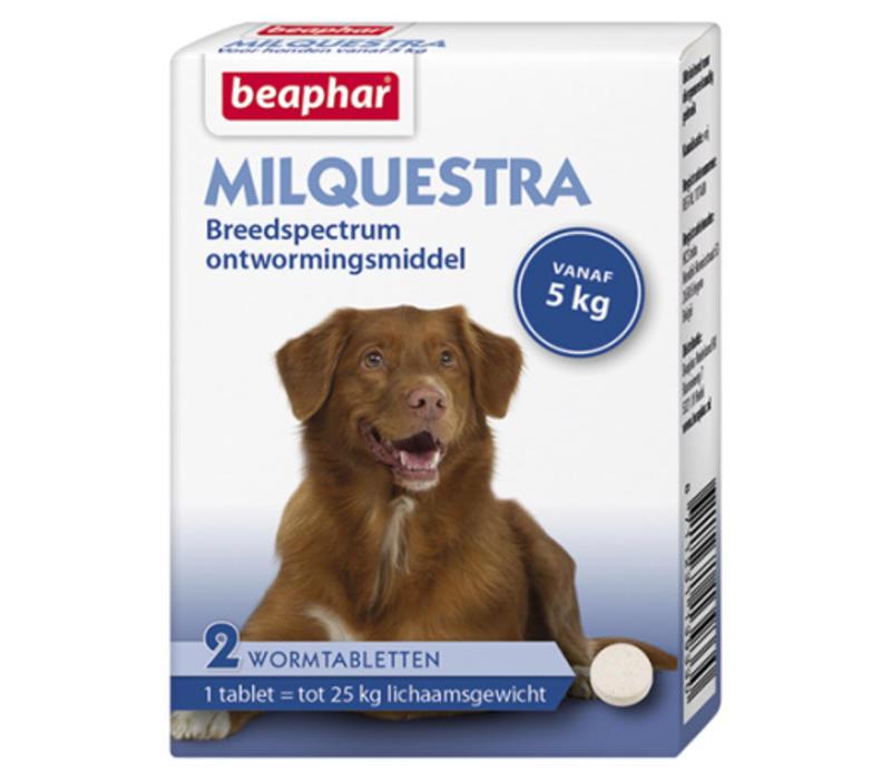 Beaphar | Milquestra hond | 2 tab | 5 tot 50 kg