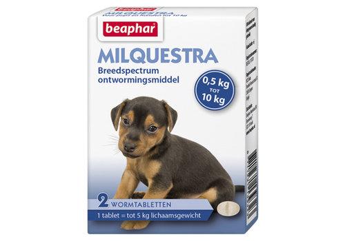 Beaphar Beaphar | Milquestra pup | 2 tab | 0,5 tot 10 kg