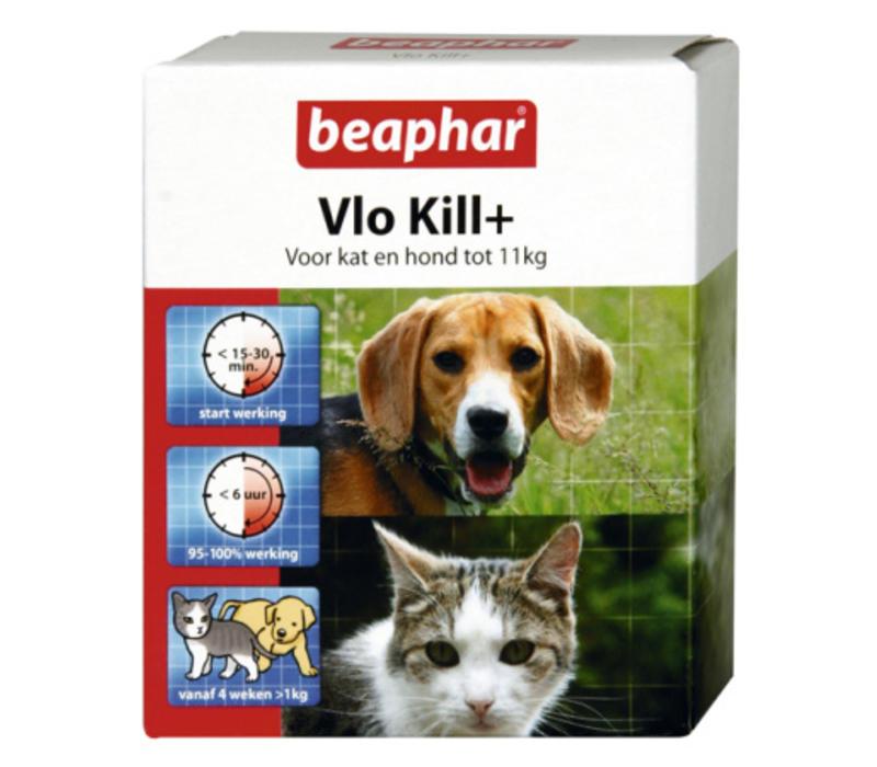 Beaphar | Vlo kill hond en kat tot 11 kg | 6 tab