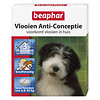 Beaphar Beaphar   Vlooien anti conceptie hond m   3 stuks   Medium