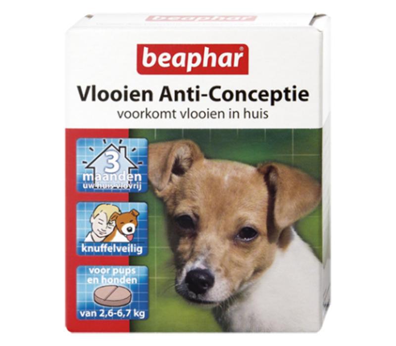Beaphar | Vlooien anti conceptie hond s | 3 stuks | Small