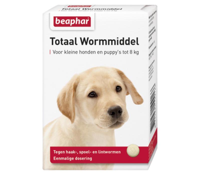 Beaphar | Wormmiddel totaal hond klein | 6 tab | Small