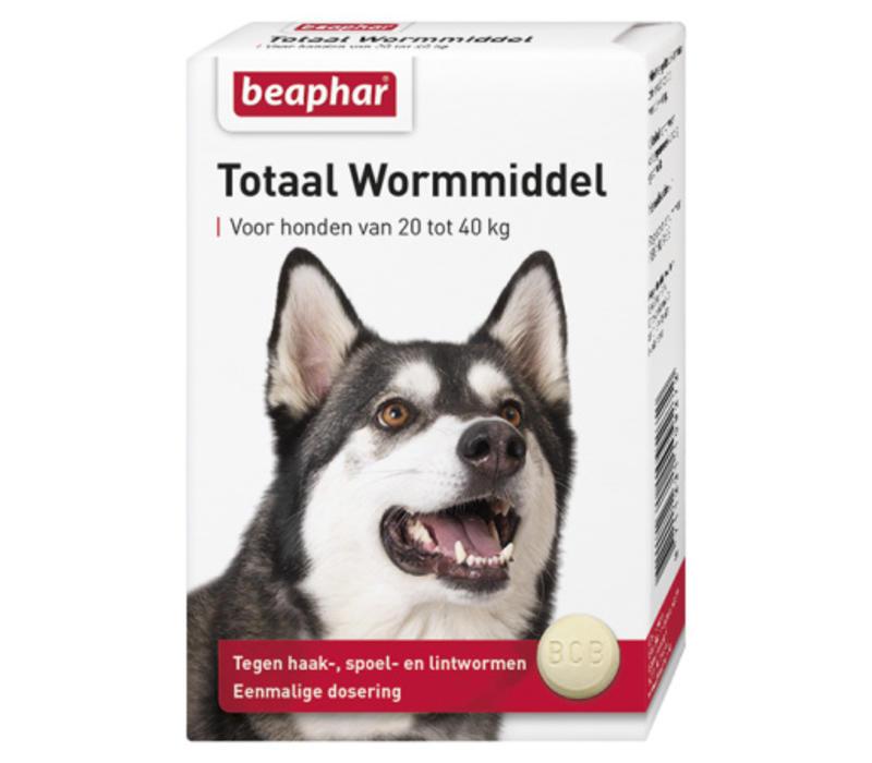 Beaphar | Wormtablet totaal hond groot | 4 tab | Large