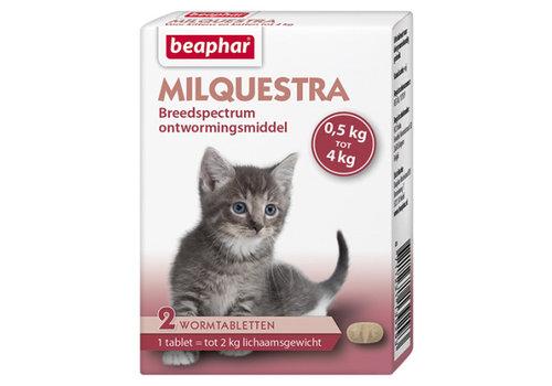 Beaphar Beaphar | Milquestra kitten | 2 tab | 0,5 tot 4 kg