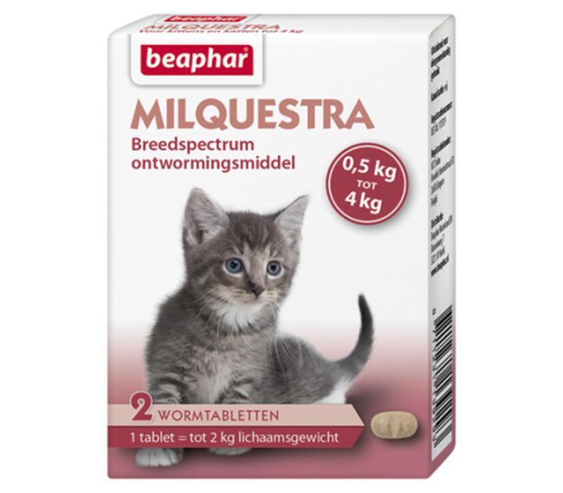 Beaphar | Milquestra kitten | 2 tab | 0,5 tot 4 kg