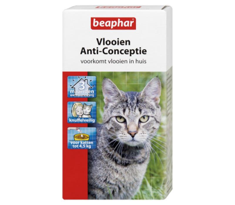 Beaphar | Vlooienanticonceptie kat s | 3 stuks | Small