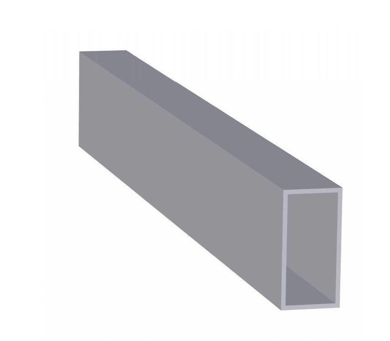 Aluminium Koker 40 x 80 x 3,0 mm