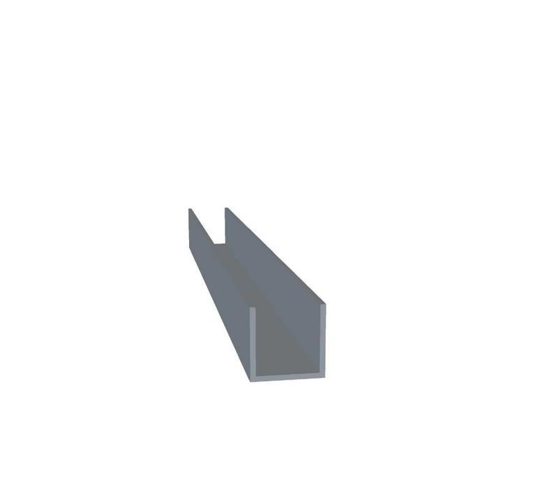 Aluminium U Profiel 20 x 20 x 20 x 2,0 mm