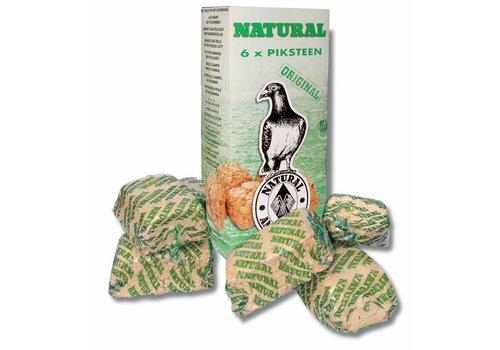 Natural Natural piksteen 6-pack