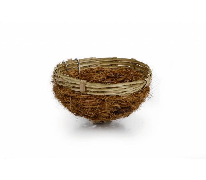 Bamboenest met kokosvezel