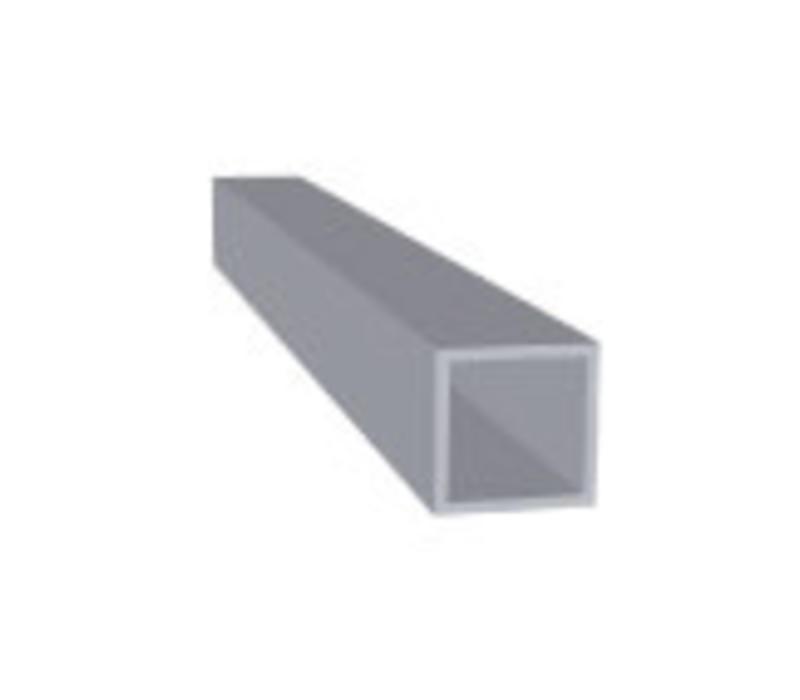 Aluminium Koker 20 x 20 x 1,5 mm