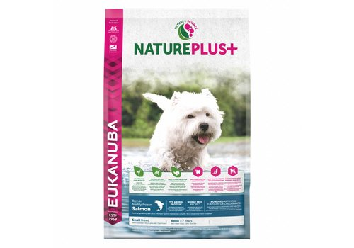 Eukanuba Nature Plus | Salmon |Small Breed | 2.3KG | Adult 1-7 Years