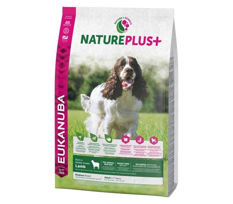 Nature Plus | Lamb |Medium Breed | 2.3KG | Adult 1-7 Years