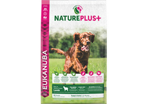 Eukanuba Nature Plus | Lamb |All Breeds | 2.3KG | Puppy&Junior 1-12 Months