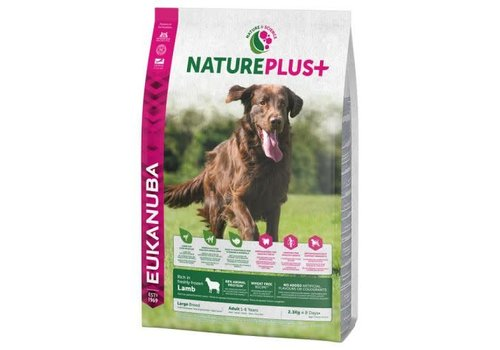 Eukanuba Nature Plus | Lamb |Large Breeds | 2.3KG | Adult 1-6 Years